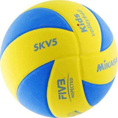 Детский волейбольный мяч Mikasa SKV5, мягкий (ORIGINAL)