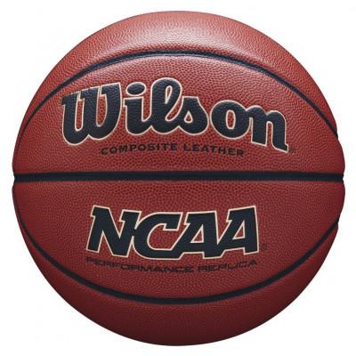 Мяч баскетбольный игровой Wilson NCAA PERFORMANCE EDITION BBALL BROWN (Оригинал с гарантией)