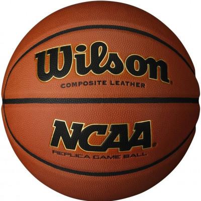 Мяч баскетбольный игровой Wilson NCAA REPLICA COMP DEFL 295 (Оригинал с гарантией)