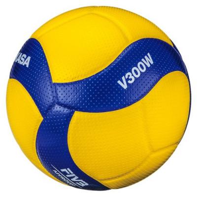 Мяч волейбольный игровой Mikasa V300W (ORIGINAL)