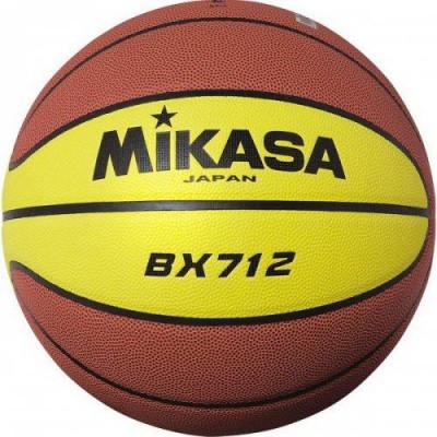 Мяч баскетбольный игровой Mikasa BX712 (ORIGINAL)