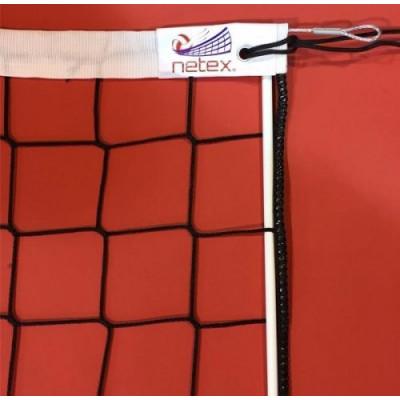 Волейбольная сетка Netex PP/b-3 с тросом и антеннами SI0007