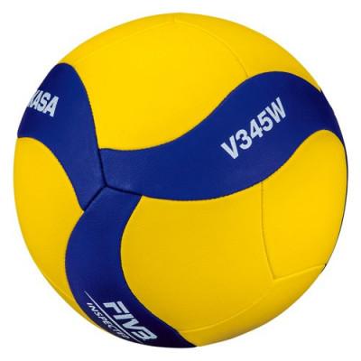 Мяч волейбольный детский Mikasa V345W, облегченный (ORIGINAL)