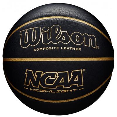 Мяч баскетбольный игровой Wilson NCAA HIGHLIGHT BBALL (Оригинал с гарантией)