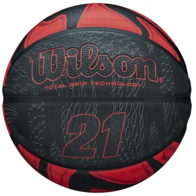Мяч баскетбольный Wilson 21 SERIES BSKT RDBL 295 (Оригинал с гарантией)